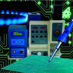 Manutenção de fotômetro de chama
