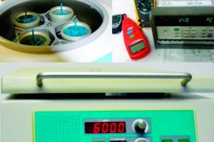 Calibração de centrífuga